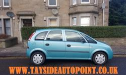 ** FREE DELIVERY IN ABERDEEN ** VAUXHALL MERIVA 1.7