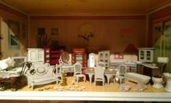 Dolls house furniture what I got for shabby chicing