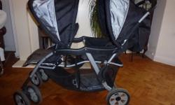 Lovely condition Double buggy for sale. Hi- rise