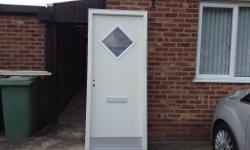 Double glazed door and frame Brand new H 2100 W 900 D