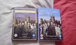 Downton Abbey DVD box set series 1 & 2. One of them is