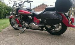 YAMAHA DRAG STAR 650 FOR SALE in very good condition...