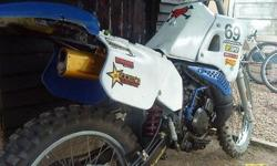 DTR 125 spares or repair, we took the bike in to a