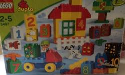 Duplo lego in original box and clipo pieces Good for