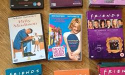 A selection of DVDs - all originals and in good