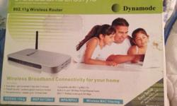 DYNAMODE WIRELESS ROUTER IN GREAT CONDITION Includes