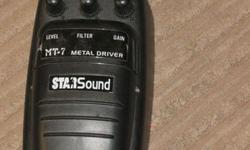 STAR SOUND METAL DRIVER EFECTS PEDDLE PICK UP ONLY