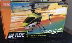 Blade 120 Sr helicopter ready two fly remote lippo and