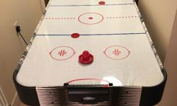 Full size electric air hockey table in immaculate