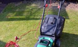 This lawnmower has been used at most a dozen times on a