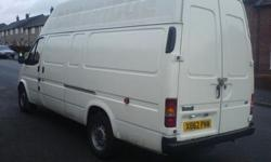 extra long wheelbase transit van,long tax& mot,2000 x