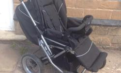 Emmaljunga pushchair in good condition faces both ways