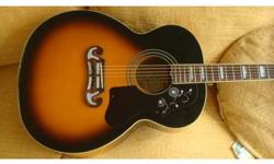 open to offers!!!!!!!!!!!!! EPIPHONE EJ200 JUMBO