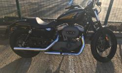 This Harley Davidson is in excellent condition with low