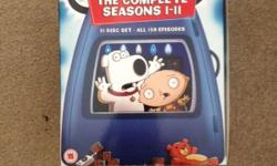 Family guy box set seasons 1-11 all in excellent
