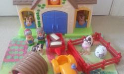HAPPYLAND Farm set (photos 1-5) RRP £70 PLUS Extras