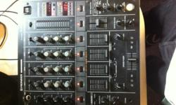 This mixer has a few faults with the EQs and/or fader.