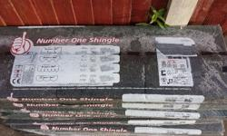I have 5 packs of felt roof shingles in a green colour.