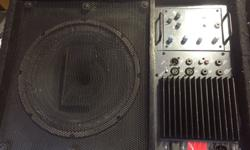 Fender power stage 12 inch powered wedge monitors they