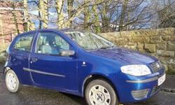 FIAT PUNTO ACTIVE 2004 MODEL 1 YEARS MOT AND 6 MONTHS
