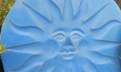 Large Fibreglass mould in Shape of Sun. Use with