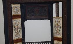Cast iron fireplace perfect condition...a steal at