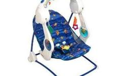 Fisher Price Aquarium Take Along Swing Folds compactly