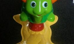 Child's Fisher Price turtle with lights and sounds in
