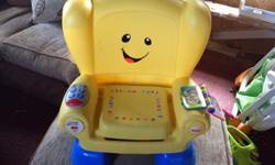 Laugh and Learn chair with smart stages technology.
