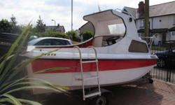 CJR14ft fishing dayboat,including 35hp electric start