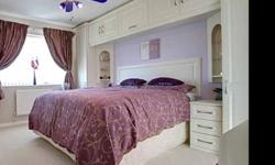 Fitted bedroom furniture as seen in picture (also