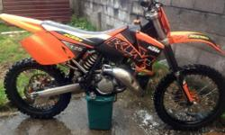 For sale ktm 125 2003 in good condition very fast and