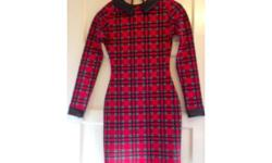 Size 8 red check dress by Figa. Lovely thick and