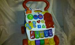 FOR SALE - VTECH FIRST STEPS BABY WALKER Very good