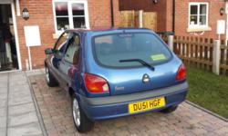 2001 Ford Fiesta 1.3 Flight 108000 miles, MOT untill
