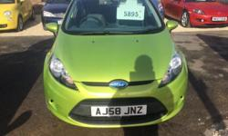 Ford Fiesta style plus 58 reg very low mileage only