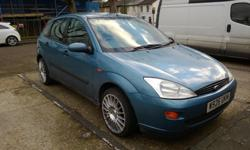 Ford Focus 1.6 LS for sale. I am only selling this car