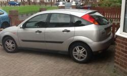 Ford focus 1.6 zetec for sale brilliant runner has 11