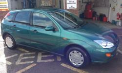 Ford focus LX,2001,metallic green,colour coded,5