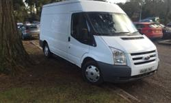 Here for sale is my Ford transit van excellent