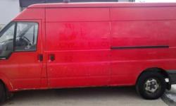 Ford transit lwb semi high roof runs and drives superb