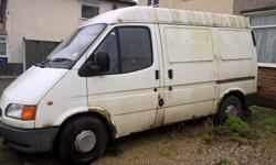 Smiley faced transit, spares or repairs, no mot or tax,