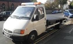 FOR SALE IS MY FORD TRANSIT RECOVERY TRUCK IN EXCELLENT