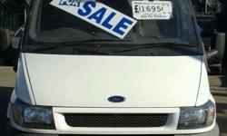 Ford transit, TD, swb, 2002, 2L, mot october, 137k,