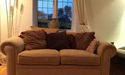 FREE TO COLLECT Lovely 2 x two seater sofas Laura