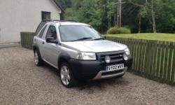 £800 Land Rover Freelander 2002 Serengeti HDI High