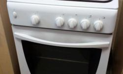 Indesit Free Standing Gas Cooker with single oven and