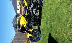 Yamaha fz1 v god condition,fitted with crash bungs,tail