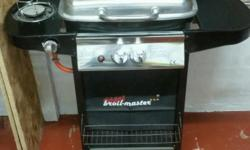 Gas BBQ. Never been used. Excellent condition. Has a