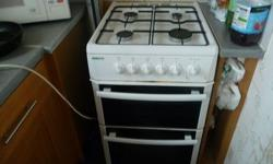 gas cooker, 2 years old,front right hob doesnt